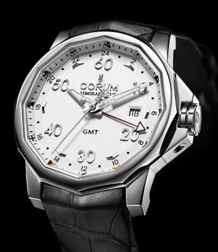 Corum Admirals Cup Challenger 44 GMT Replica watch 383.330.20/0F81 AA12